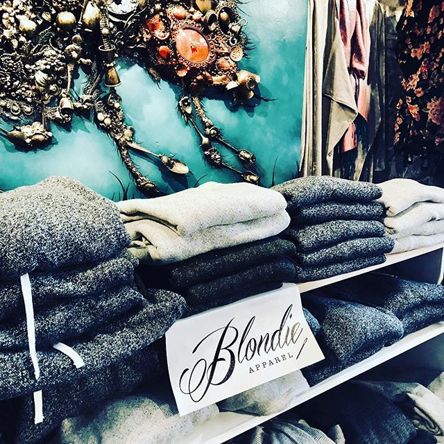 Huge stock of Blondie Apparel at Anarchy! Perfect handmade gift !