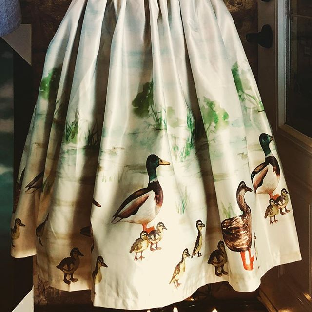 Duckling parade dress at Anarchy